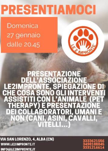 La pet therapy – cos'è e quali benefici – serata informativa ad Alba
