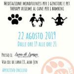 laboratorio relax in famiglia pet therapy per bambini e mindfulness per genitori