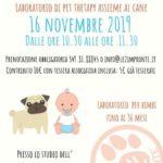 giochiamo con fido - laboratorio di pet therapy per bimbi fino ai 36 mesi