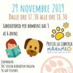 letture a 6 zampe- laboratorio di lettura per bimbi assieme al cane