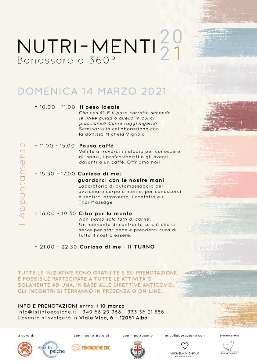Nutri-Menti – II appuntamento 14/03/2021