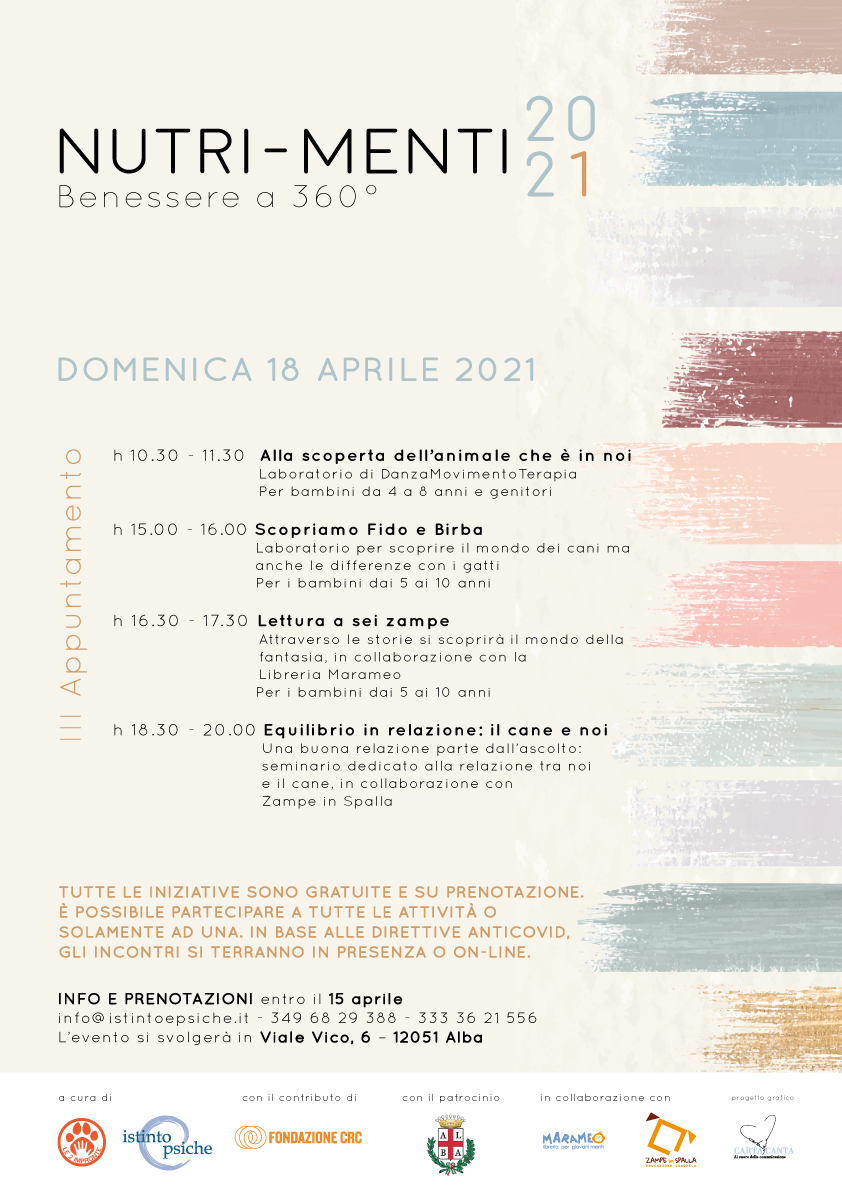 Nutri-Menti – III appuntamento 18/04/2021